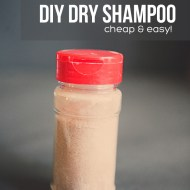 DIY Dry Shampoo Powder