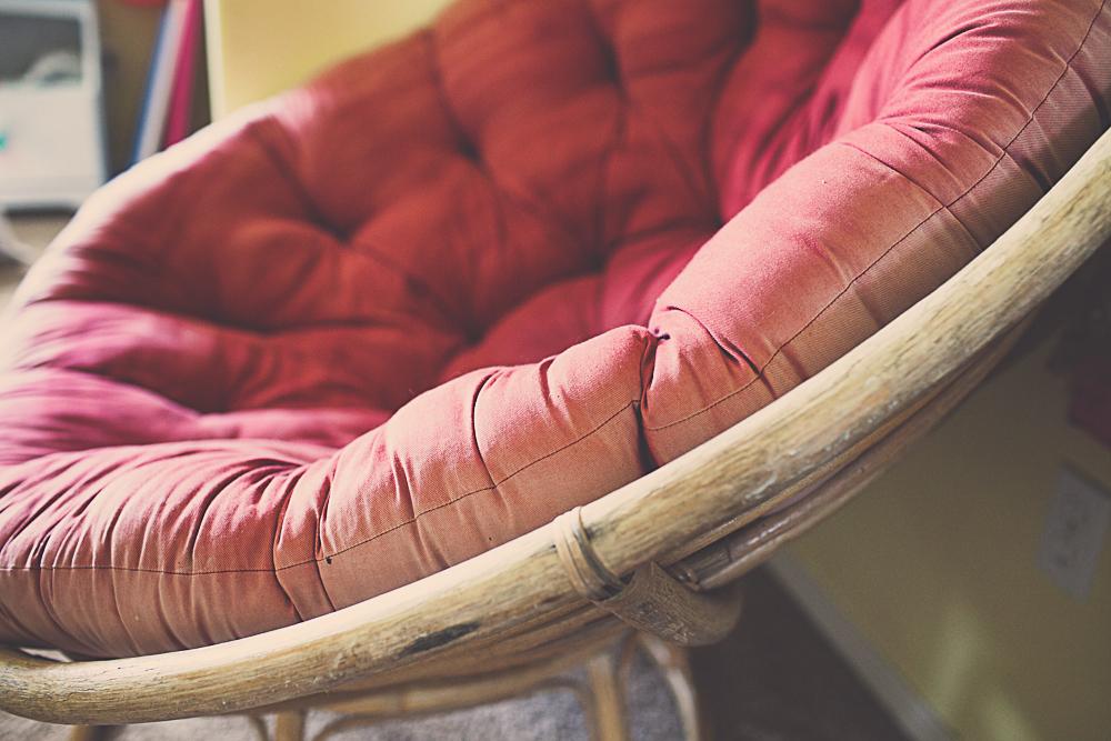 Papasan Chair Cushion Cover DIY 1-3