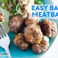 Easy Baked Meatball Recipe | Quick dinners