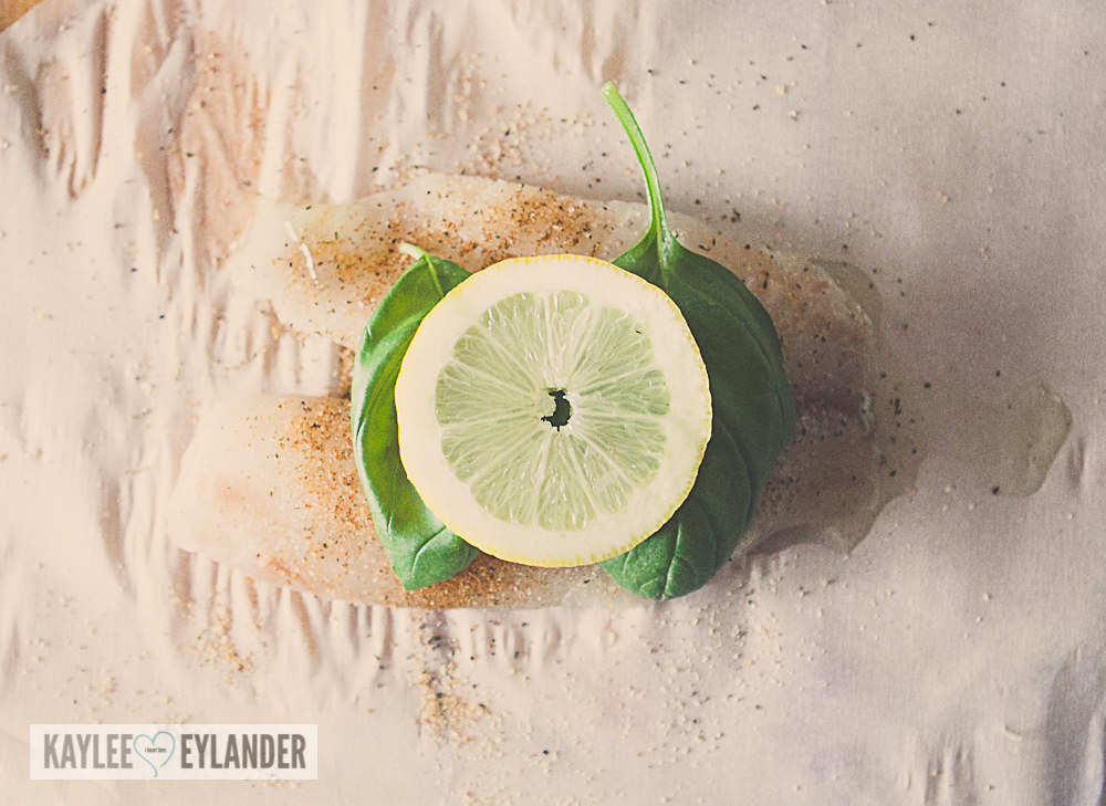 Oven Baked Tilapia with Lemon & Basil-6