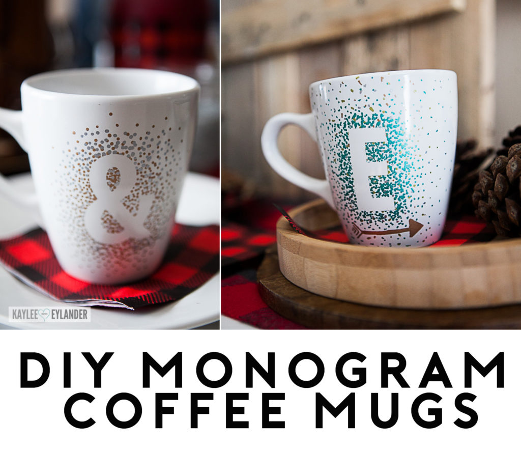Monogram DIY Cute Mug