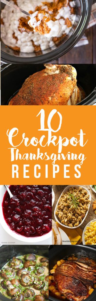 Crockpot thanksgiving recipes
