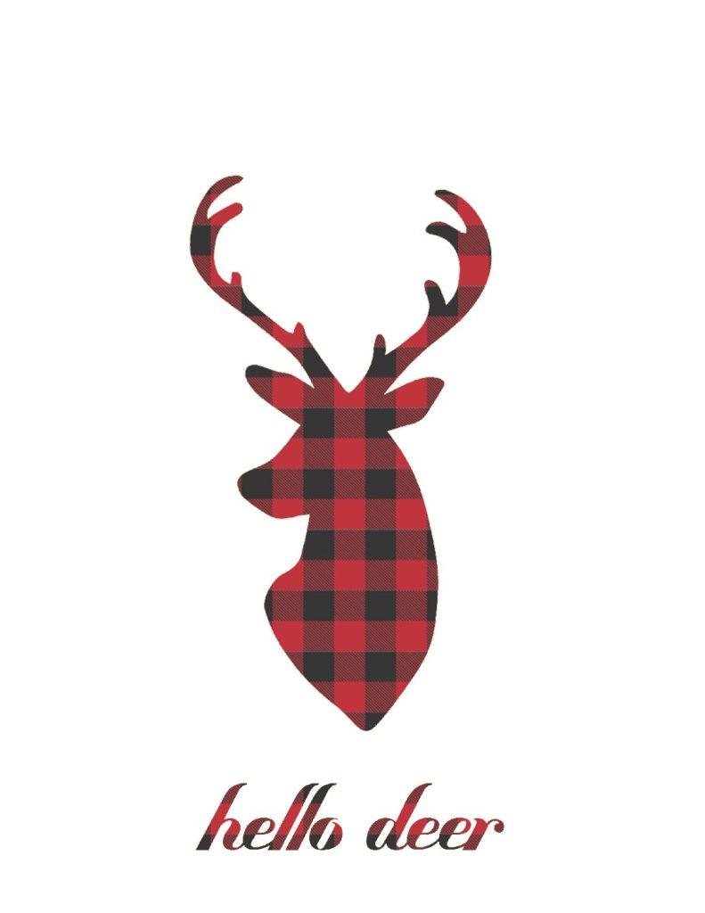 Lumberjack Plaid Valentines Day Card Printables Kaylee