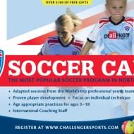 Kid's Summer Activites   British Soccer Camp