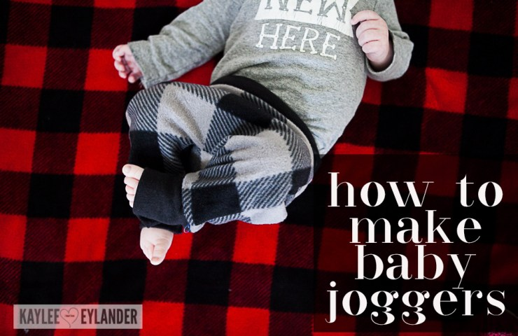 How to make Baby Joggers |  DIY Baby Harem Pants Tutorial