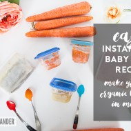 Easy Instant Pot Baby Food