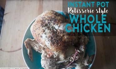 Instant Pot Recipes | Whole Body Chicken Recipe