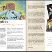 Indulge Magazine feature article: The Father's Heart P22-23