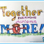 Together everyone achieves more quote