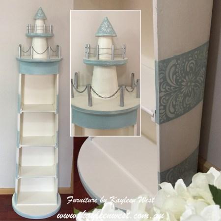 Nautical Furniture Lighthouse Bookcase