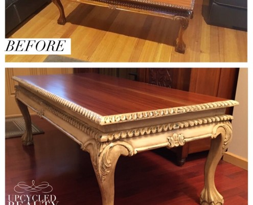 Upcycled Beauty Painted Furniture Makeovers Coffee table