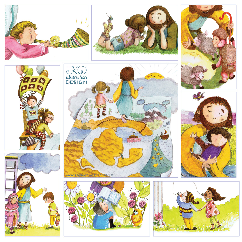We Worship God picture book by Kayleen West