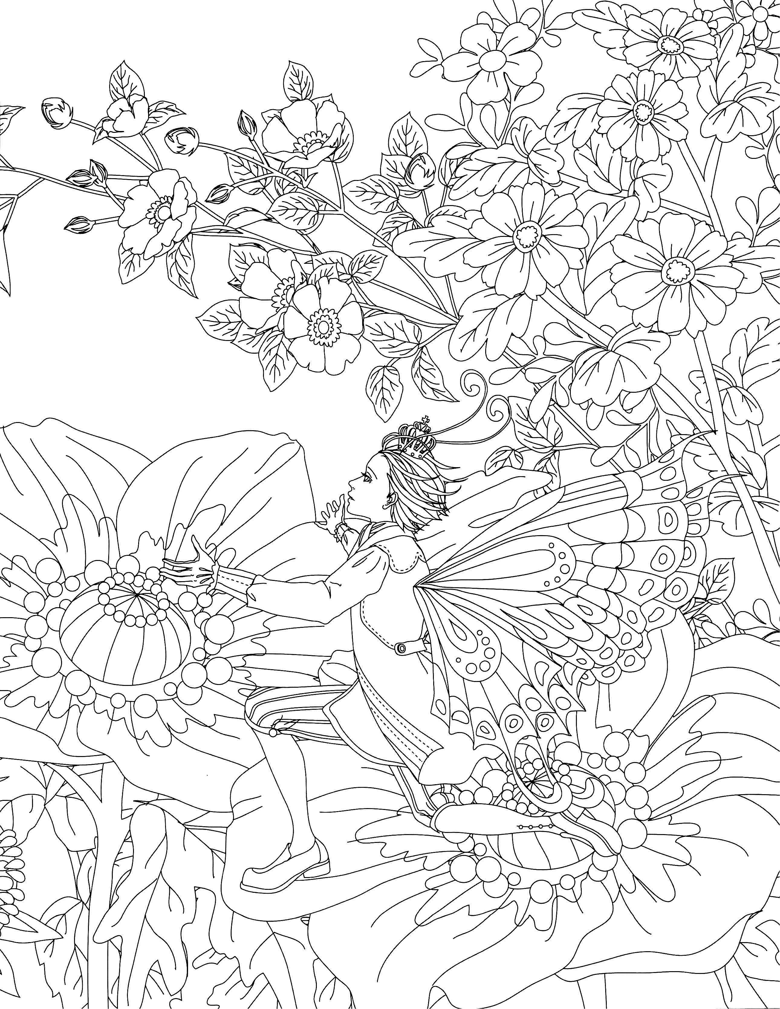 Classic Fairy Tales Coloring Book