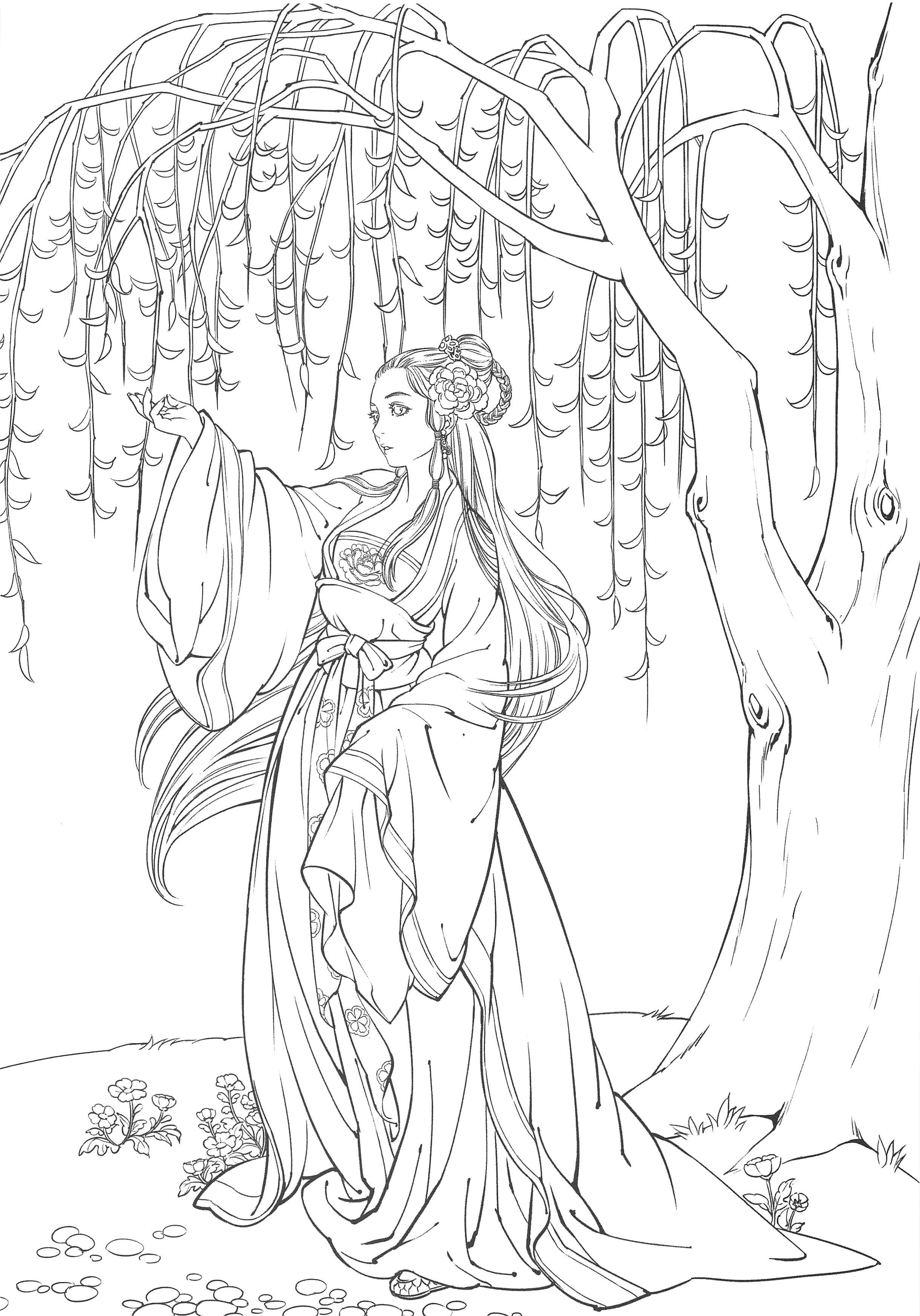 324. Korean Fairy Tales Coloring Book Vol. 1