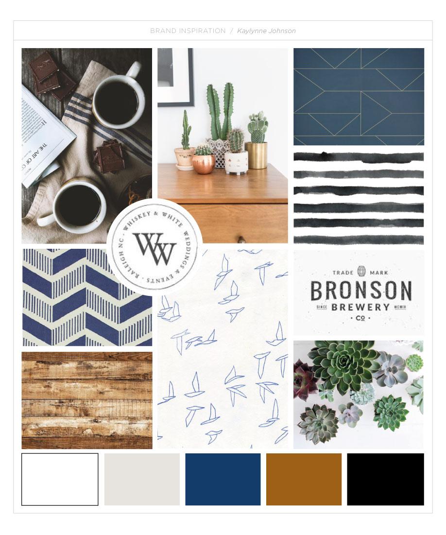 Kaylynne Johnson - web & design moodboard