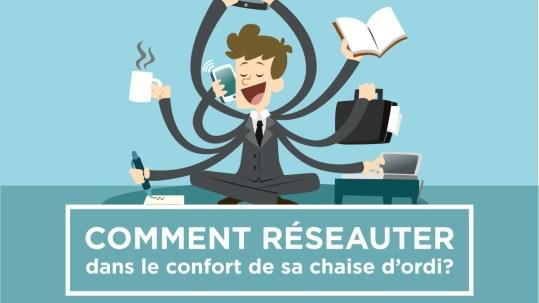 Réseauter dans le confort de votre chaise d'ordi | Kaylynne Johnson - web & design