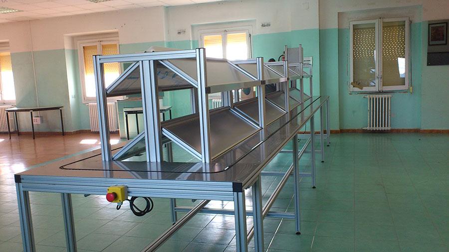 Perfil de aluminio estructural  Kayma Sistemas SL
