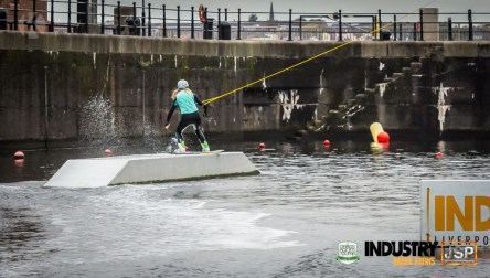 Competing in amateur wakeboarding in Liverpool