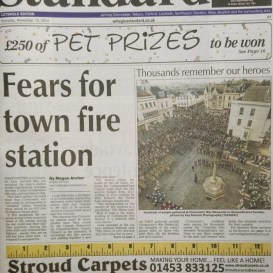The Wilts and Glos Standard Front Cover Cirencester