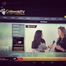 Kay from Kay Ransom Photography on Cotswold TV