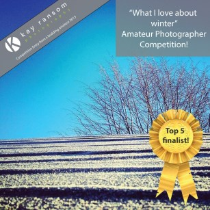 What I love about winter photography competition