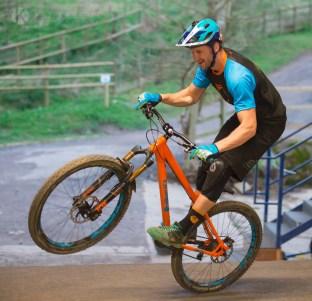 Ben Moore pro mountain biker