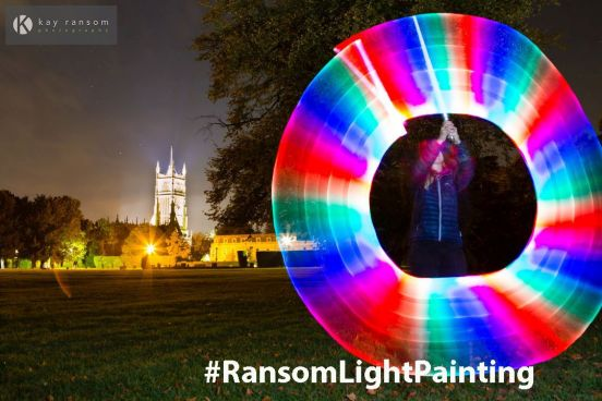 Painting with light Cirencester