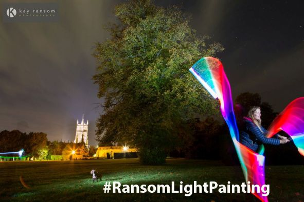 Ransom Light Painting