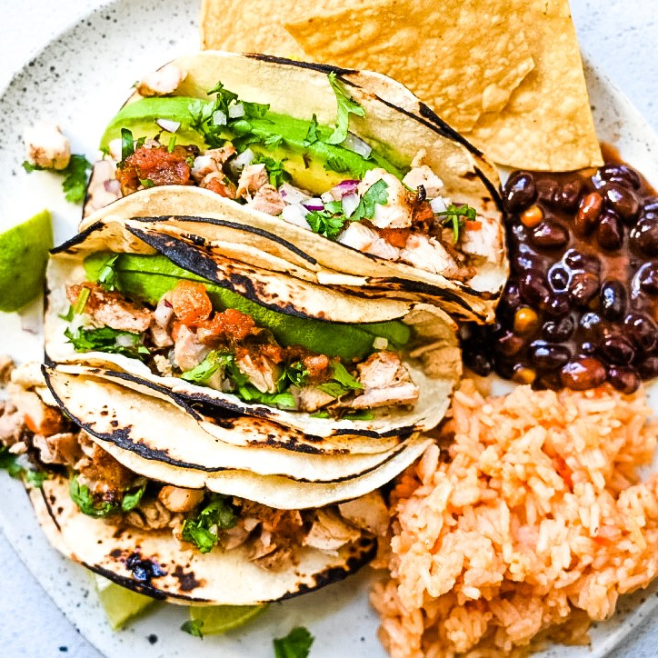 Easy Grilled Street Chicken Tacos