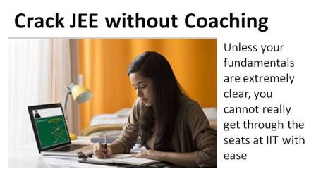 Crack JEE without coaching