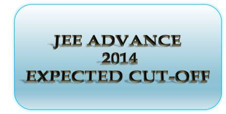 JEE ADVANCE 2014 CUT-OFF