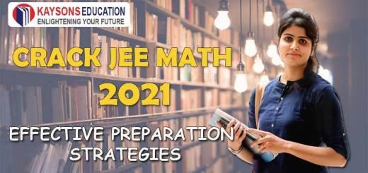 JEE Main Maths Preparation