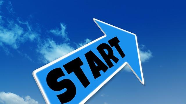 Starting is paramount