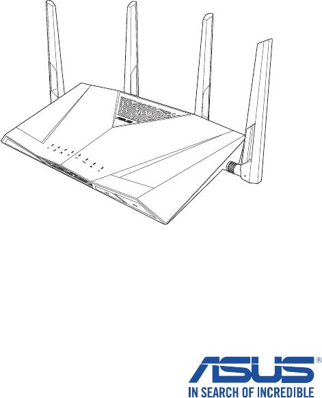 Asus DSL-AC88U käyttöohje (70 sivut)