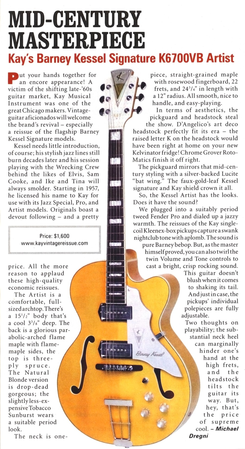 medium resolution of barney kessel artist vintage guitar magazine review