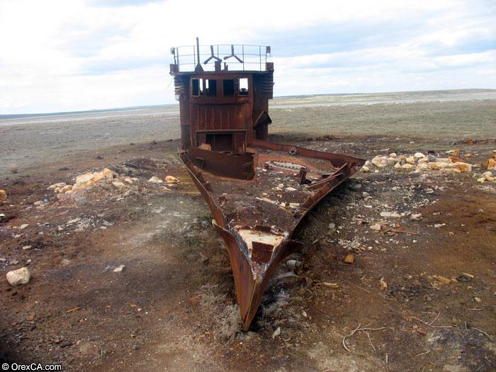 Dead Ship Aral sea
