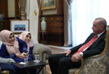 Photo of Erdogan u predsjedničkoj palati primio sijamske bliznakinje