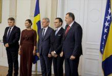 Photo of Članovi Predsjedništva BiH primili princezu Victoriju i princa Daniela