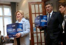 Photo of Hrvatska: Potpise za kandidaturu predali Kolinda Grabar-Kitarović i Miroslav Škoro