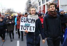 Photo of Protest u Berlinu: Sram te bilo Evropska unijo