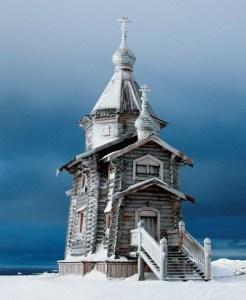 Храм в честь Святой Троицы в Антарктиде