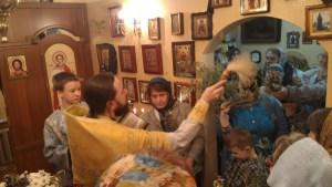 Освящение вербы в праздник Входа Господня в Иерусалим