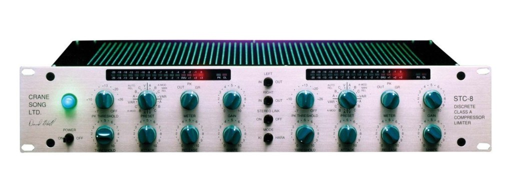 Crane Song STC-8 Stereo Compressor Limiter