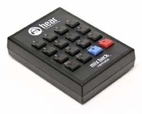 Hear Technologies Mixer, Remote Control for Mixback Mixer