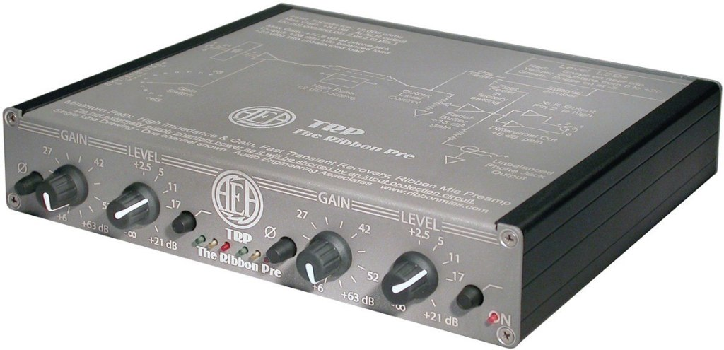AEA TRP 2-Channel Microphone Preamp