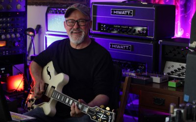 Session Guitarist Tim Pierce Chooses The Kahayan 12k72 Preamp