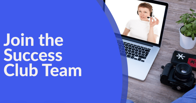 join the success club team