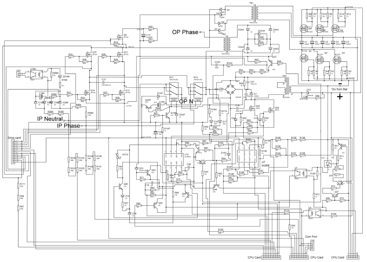 UPS INVERTER DIAGRAMS PDF Free Download