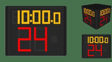 Four Side Shot Clock