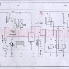 Chinese 110cc Atv Wiring Diagram Driving Light For  Readingrat